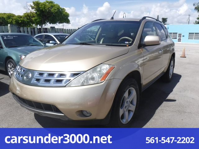 2003 Nissan Murano SL Lake Worth , Florida 1