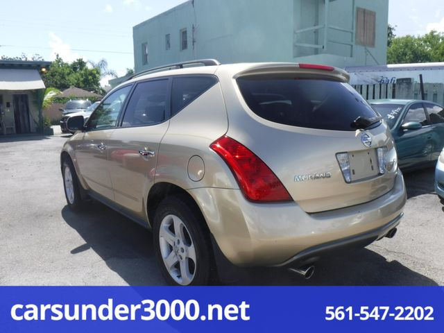 2003 Nissan Murano SL Lake Worth , Florida 2
