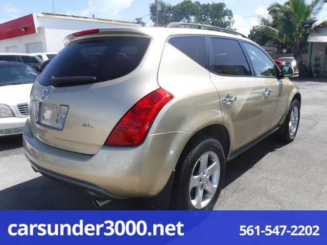 2003 Nissan Murano SL Lake Worth , Florida 3