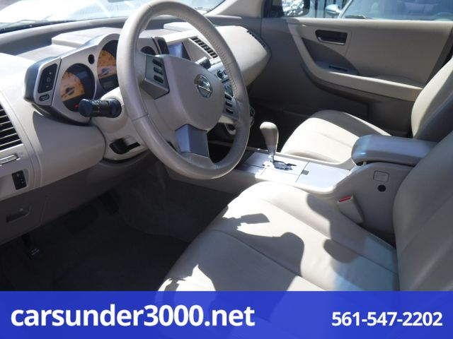 2003 Nissan Murano SL Lake Worth , Florida 4
