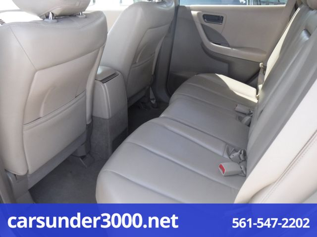 2003 Nissan Murano SL Lake Worth , Florida 5