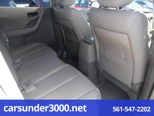 2003 Nissan Murano SL Lake Worth , Florida 7