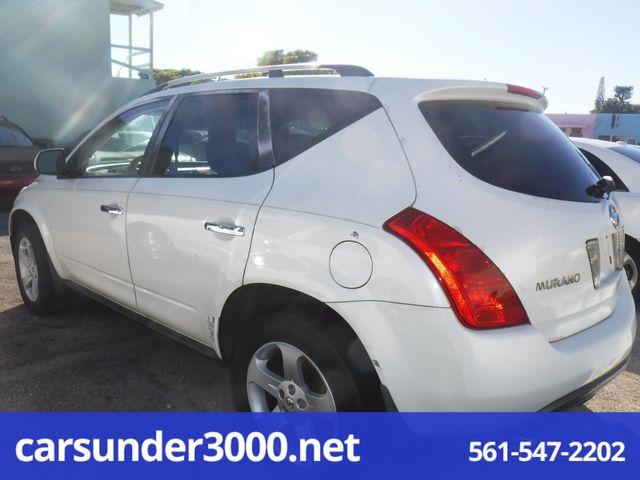 2003 Nissan Murano SL Lake Worth , Florida 3