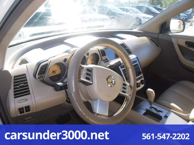 2003 Nissan Murano SL Lake Worth , Florida 4