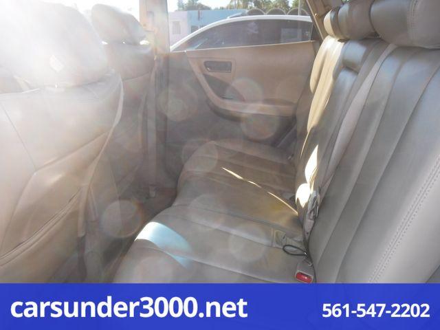 2003 Nissan Murano SL Lake Worth , Florida 6