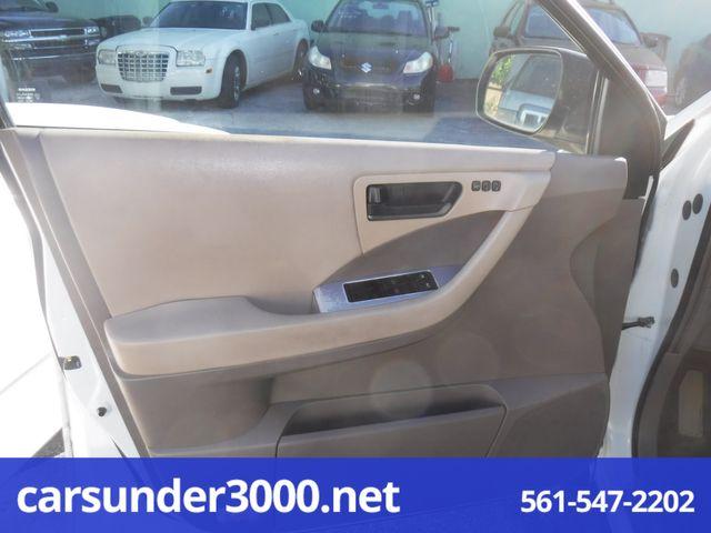 2003 Nissan Murano SL Lake Worth , Florida 7