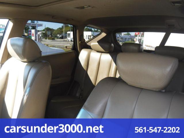 2003 Nissan Murano SL Lake Worth , Florida 9