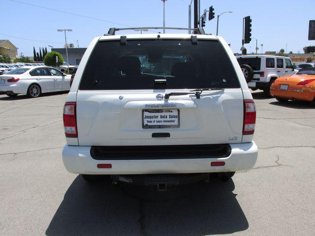 2003 Nissan Pathfinder LE in Costa Mesa, California 92627