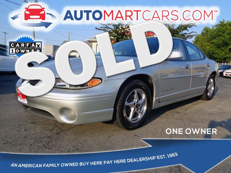 2003 Pontiac Grand Prix GT | Nashville, Tennessee | Auto Mart Used Cars Inc. in Nashville Tennessee