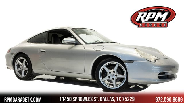 2003 Porsche 911 Carrera 6-Speed Manual