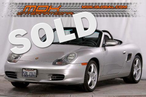 2003 Porsche Boxster - Manual - Only 53K miles - 18