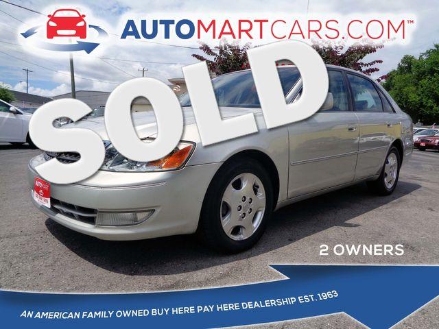 2003 Toyota Avalon XLS   Nashville, Tennessee   Auto Mart Used Cars Inc. in Nashville Tennessee