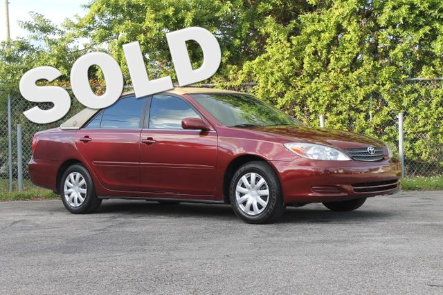 2003 Toyota Camry LE Hollywood, Florida
