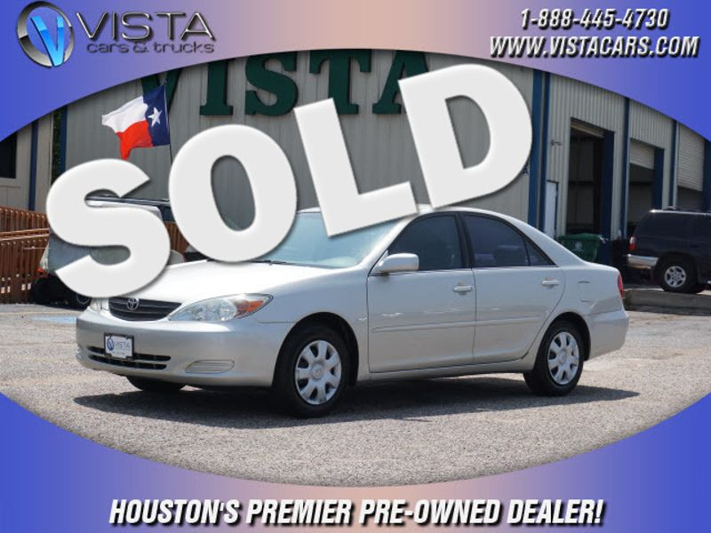 2003 Toyota Camry Le City Texas Vista Cars And Trucks