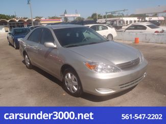 2003 Toyota Camry LE Lake Worth , Florida