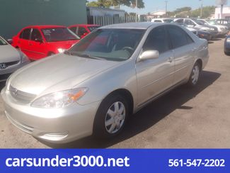 2003 Toyota Camry LE Lake Worth , Florida 2