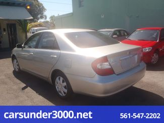 2003 Toyota Camry LE Lake Worth , Florida 1