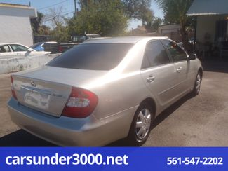 2003 Toyota Camry LE Lake Worth , Florida 3