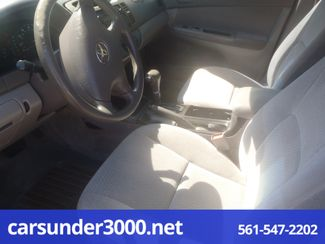 2003 Toyota Camry LE Lake Worth , Florida 4
