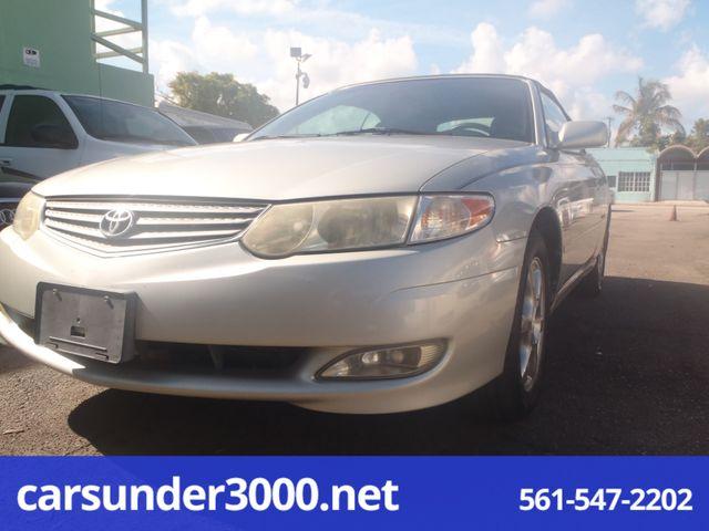 2003 Toyota Camry Solara SLE Lake Worth , Florida 1