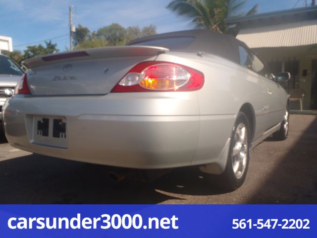 2003 Toyota Camry Solara SLE Lake Worth , Florida 3