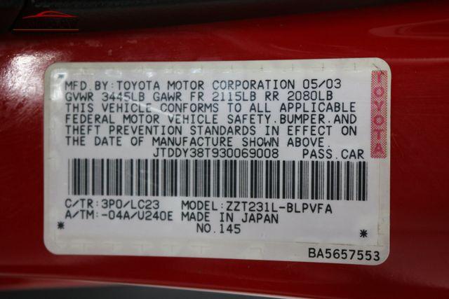 2003 Toyota Celica GTS Merrillville, Indiana 43