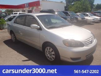 2003 Toyota Corolla LE Lake Worth , Florida 1
