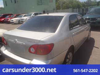 2003 Toyota Corolla LE Lake Worth , Florida 2