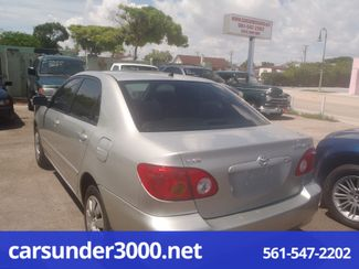 2003 Toyota Corolla LE Lake Worth , Florida 3