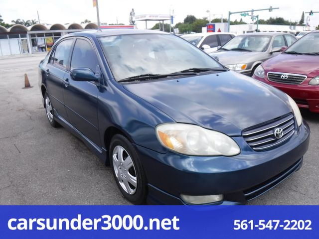 2003 Toyota Corolla S Lake Worth , Florida 2