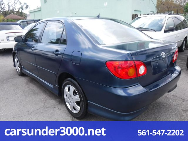 2003 Toyota Corolla S Lake Worth , Florida 3
