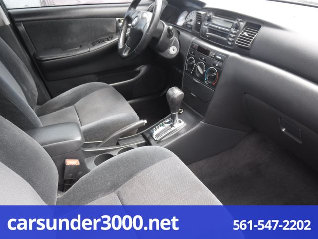 2003 Toyota Corolla S Lake Worth , Florida 6