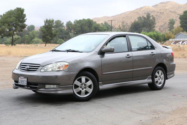 2003 Toyota Corolla S Santa Clarita, CA 1