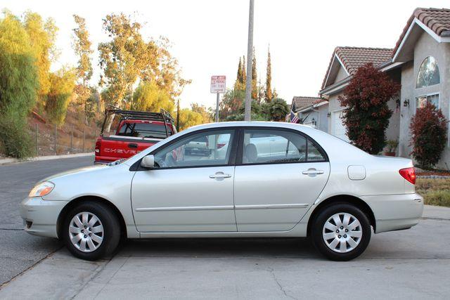 2003 Toyota COROLLA LE XLNT CONDITION SERVICE RECORDS in Woodland Hills CA, 91367