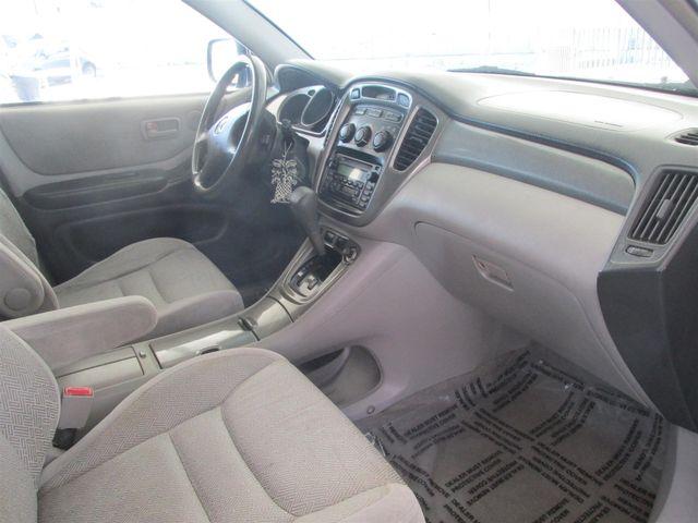 2003 Toyota Highlander Gardena, California 8