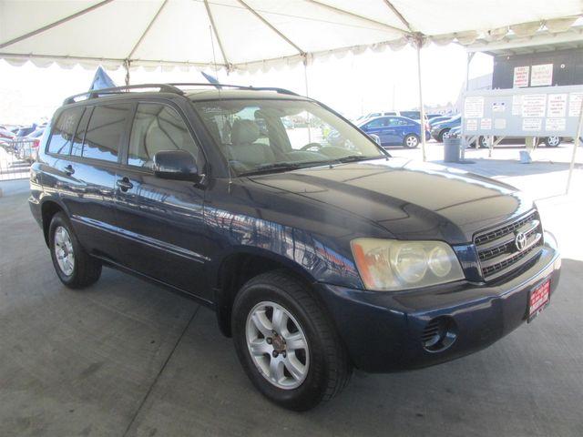 2003 Toyota Highlander Gardena, California 3