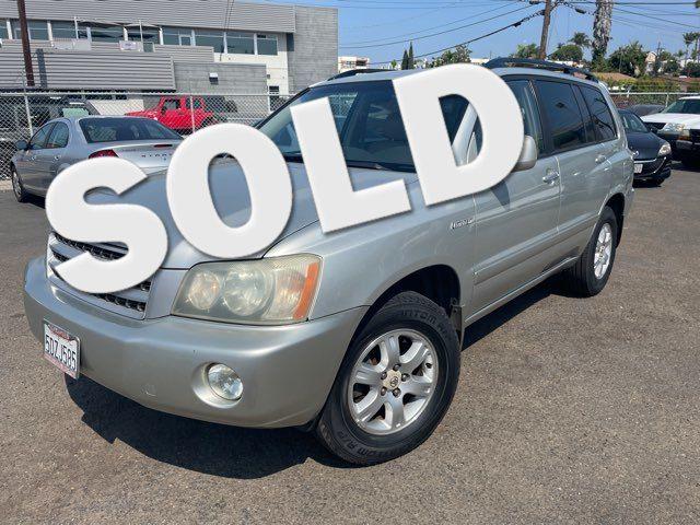 2003 Toyota Highlander Limited San Diego, CA