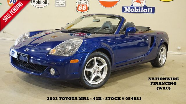 2003 Toyota MR2 Spyder AUTOMATIC,SOFT TOP,LEATHER,42K,WE FINANCE in Carrollton TX, 75006