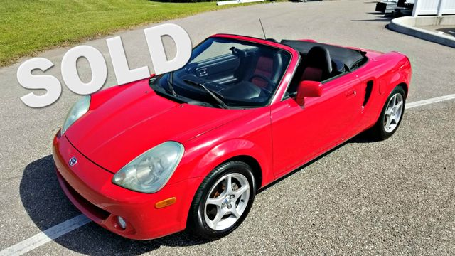 2003 Toyota MR2 Spyder SMT MANUAL TRANSMISSION CLEAN CARFAX CONVERTIBLE | Palmetto, FL | EA Motorsports in Palmetto FL