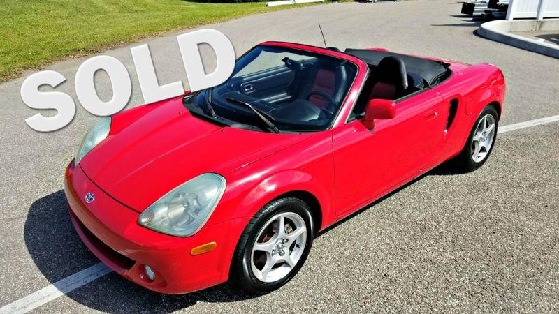 2003 Toyota MR2 Spyder SMT MANUAL TRANSMISSION CLEAN CARFAX CONVERTIBLE | Palmetto, FL | EA Motorsports in Palmetto FL