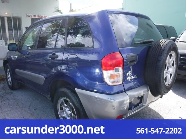 2003 Toyota RAV4 Lake Worth , Florida 2