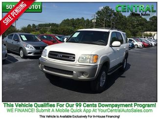 2003 Toyota Sequoia SR5 | Hot Springs, AR | Central Auto Sales in Hot Springs AR