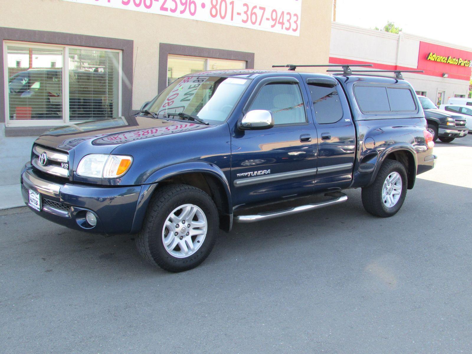2003 Toyota Tundra SR5 4X4 Access Cab City Utah Autos Inc In , Utah ...