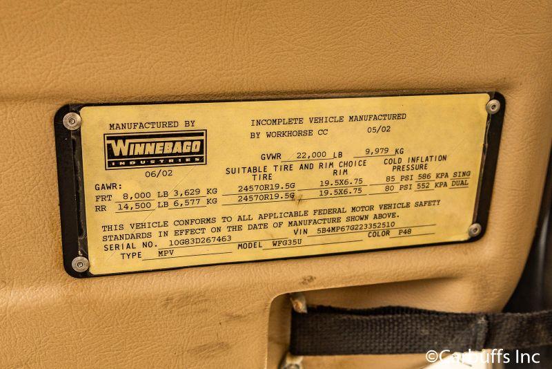 2003 Winnebago Adventurer M-35U | Concord, CA | Carbuffs in Concord, CA