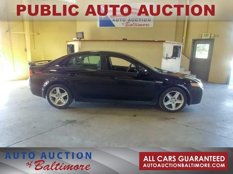 2004 Acura TL    JOPPA, MD   Auto Auction of Baltimore  in JOPPA MD