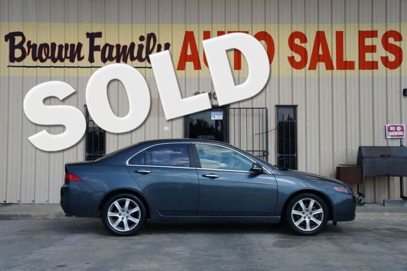 2004 Acura TSX w/Navigation | Houston, TX | Brown Family Auto Sales in Houston TX
