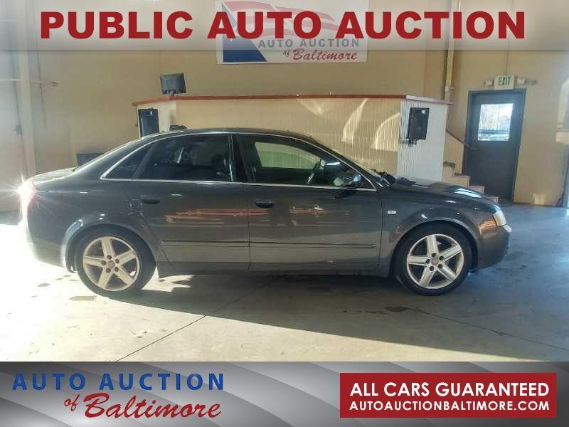 2004 Audi A4 3.0L | JOPPA, MD | Auto Auction of Baltimore  in JOPPA MD
