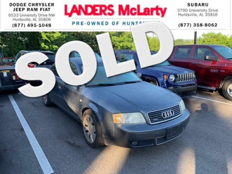 2004 Audi A6 2.7T | Huntsville, Alabama | Landers Mclarty DCJ & Subaru in Huntsville Alabama