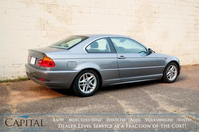 2004 BMW 325Ci Luxury Coupe w/Premium Pkg, Heated Seats, Moonroof and Hi-Fi Audio System in Eau Claire, Wisconsin 54703
