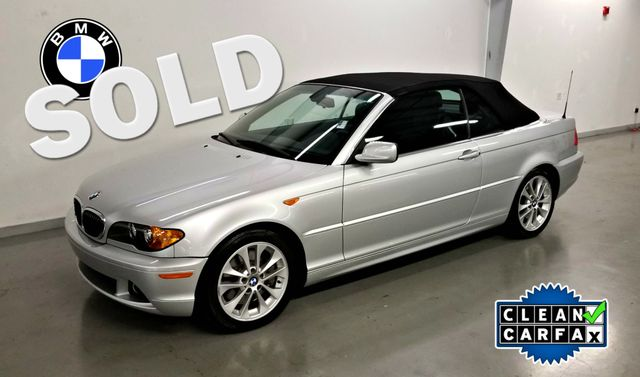 2004 BMW 330Ci CI CONVERTIBLE CLEAN CARFAX LOW MILES | Palmetto, FL | EA Motorsports in Palmetto FL
